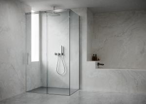 Box doccia scorrevole su misura lussuoso