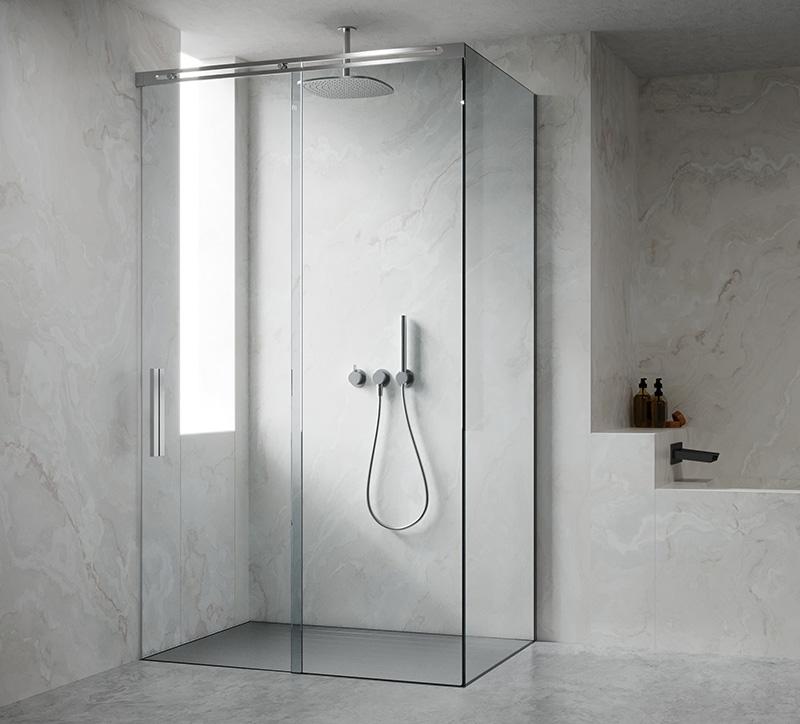 Box doccia Scorrevole Assoluto Silverplat