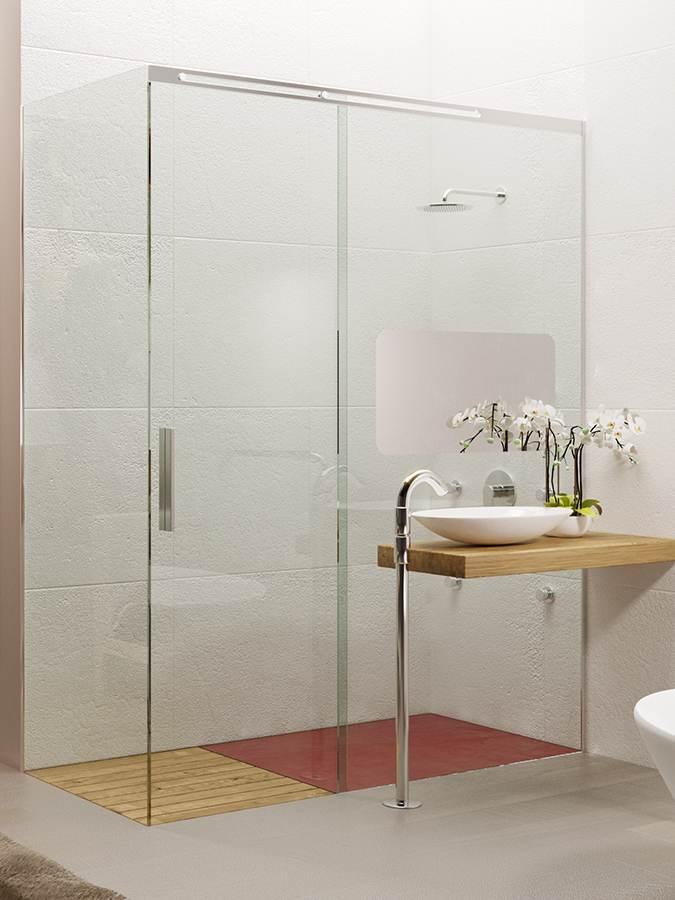 Box doccia Scorrevole colori chiari