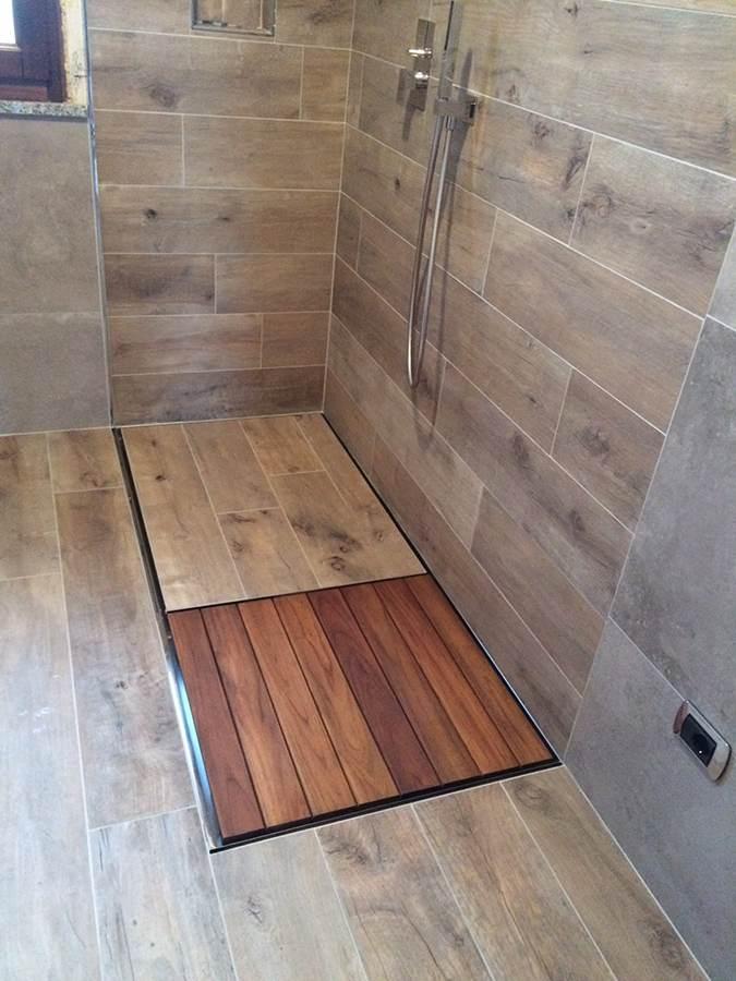 piatto doccia legno Pdreno