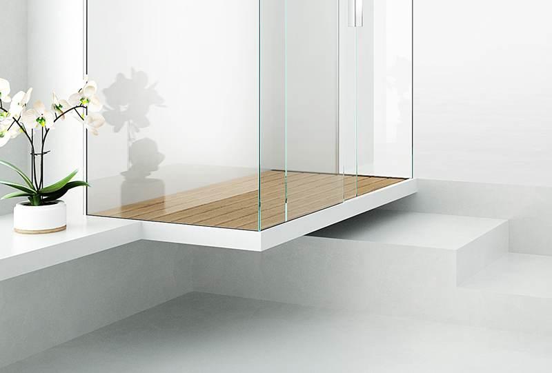 Piatti doccia filo pavimento su misura di design silverplat sistemi drenanti - Doccia a filo pavimento ...
