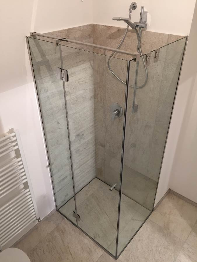 Box doccia Battente Linea Quadro 3