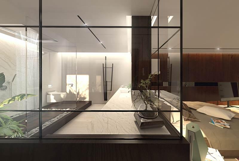 Bagni di design su misura Doccia di lusso minimale Made in Italy ...