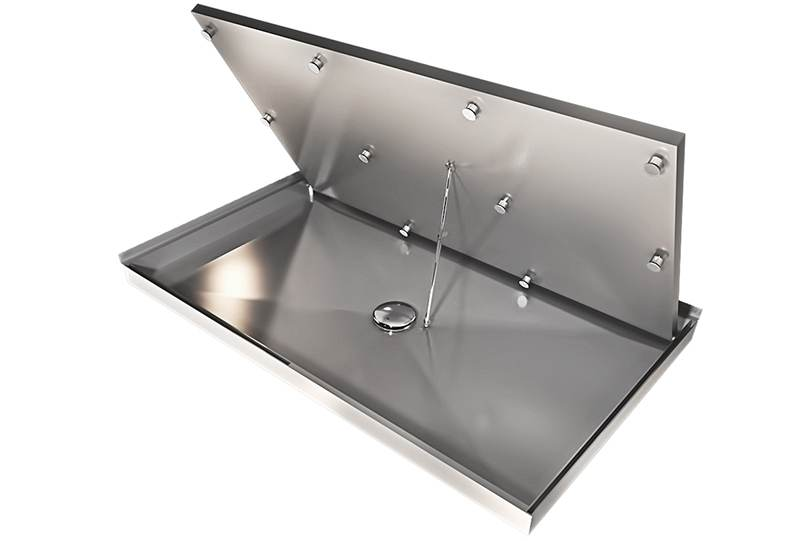 Pedana doccia sollevabile sistema Silverplat
