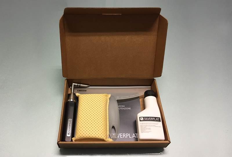 Kit Anticalcare per la Doccia Silverplat