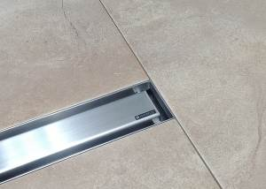 Canalina doccia Basic Silverplat