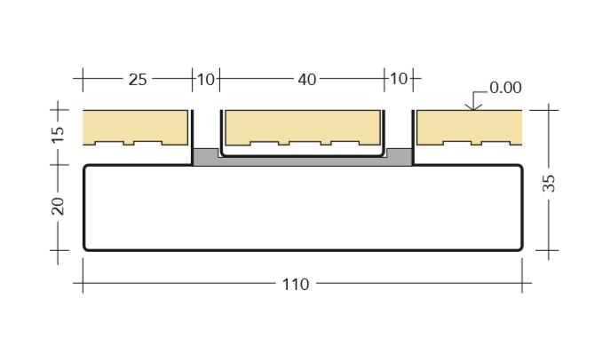 Misure tecniche canalina Basic