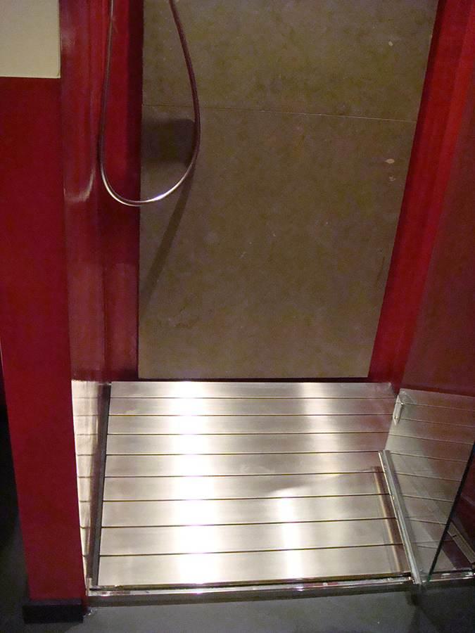 Pedana doccia acciaio inox Matilde 3