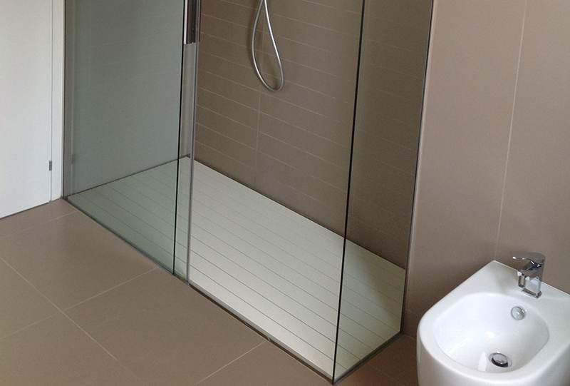 Pedana doccia alluminio Melissa 1