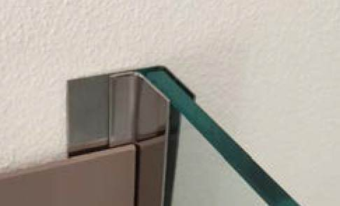 Profilo vetro doccia Muro Vetro – F