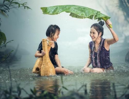 Una buona doccia dona vitalità ed energia