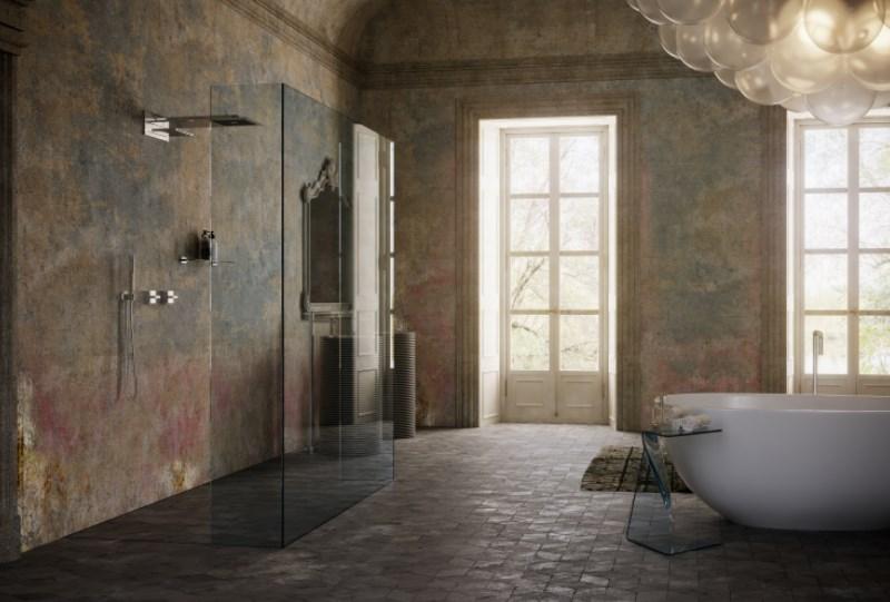 bagno di lusso particolare su misura