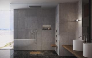 Idee Bagno Elegante moderno minimale