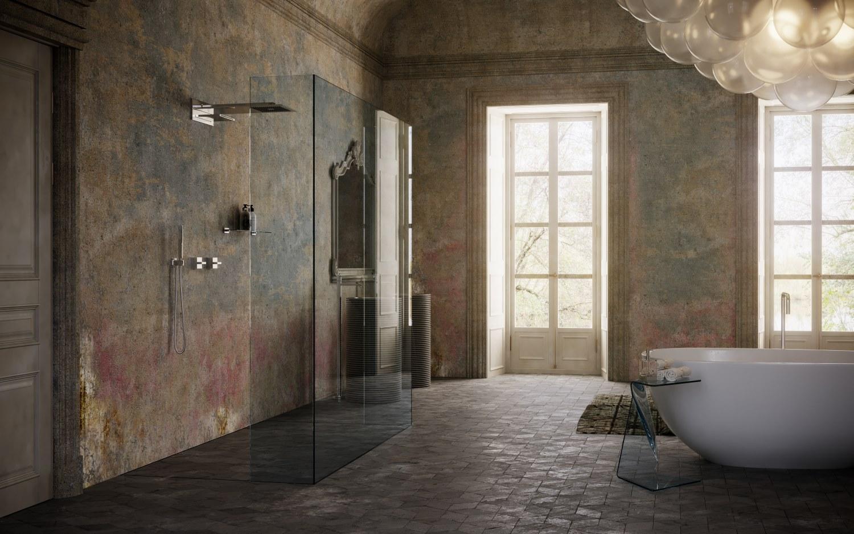 bagno lusso antico su misura