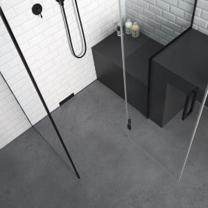 Composizione bagno di design minimale