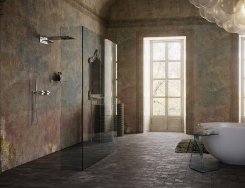 Il lusso moderno abbinato allo stile classico per una doccia su misura da esposizione!