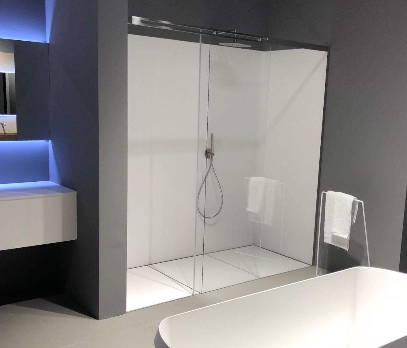 Assoluto sistema doccia - Silverplat