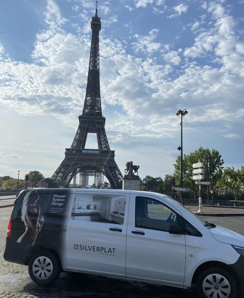 Posa lungo raggio – Silverplat - Parigi